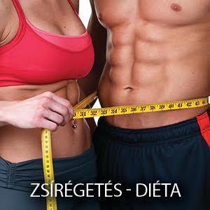 zsírégetés diéta